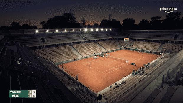 Roland Garros 2021 est diffusé sur Amazon Prime Video