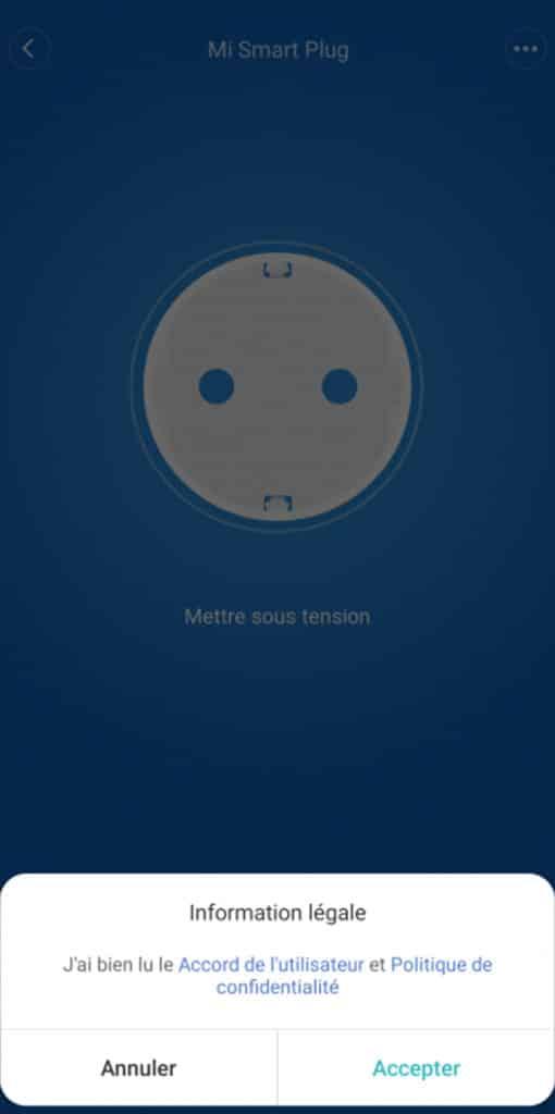 Xiaomi Home : la Mi Smart Plug