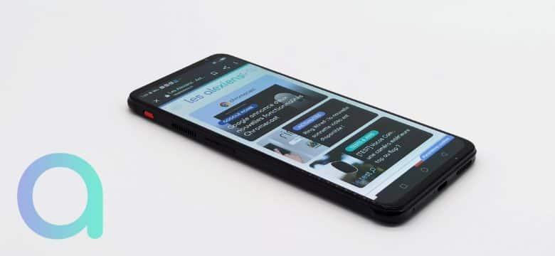Le smartphone RedMagic 6 de Nubia est dédié au gamming