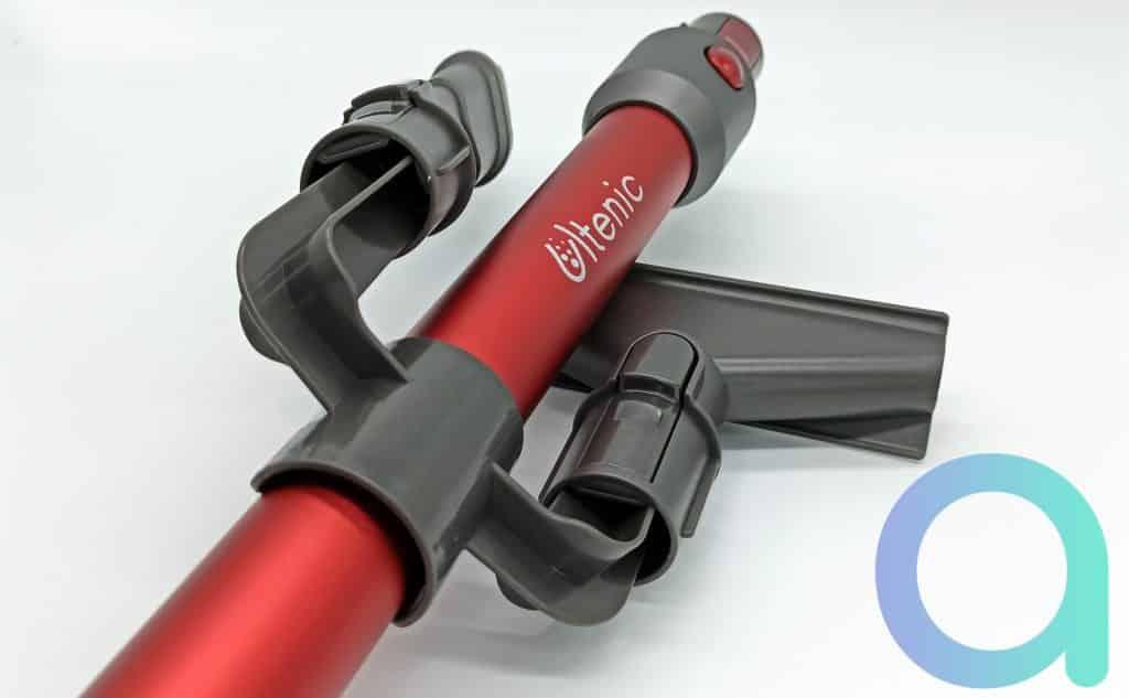 Systeme mobile pour les accesoires de l'aspirateur Ultenic U10