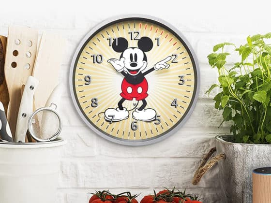 Amazon dévoile une horloge Echo Wall Clock Disney Edition