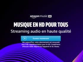 L'option musique HD est désormais gratuite pour tous les clients Amazon Music