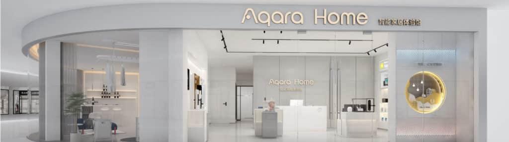 Aqara est présente dans plus de 500 boutiques