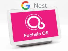 Google commence à déployer Fuchsia OS sur ses Nest Hub 2018