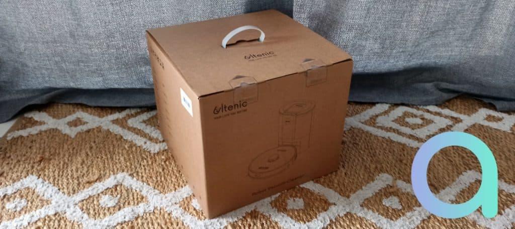 colis livré pour l'Ultenic T10 carton de 9kg