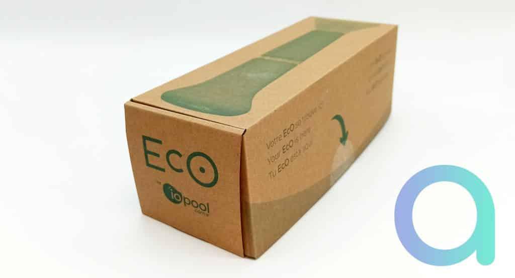 Packaging de l'analyseur d'eau EcO Iopool
