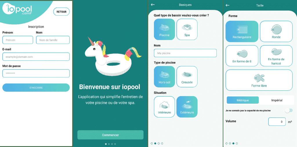 Application Iopool