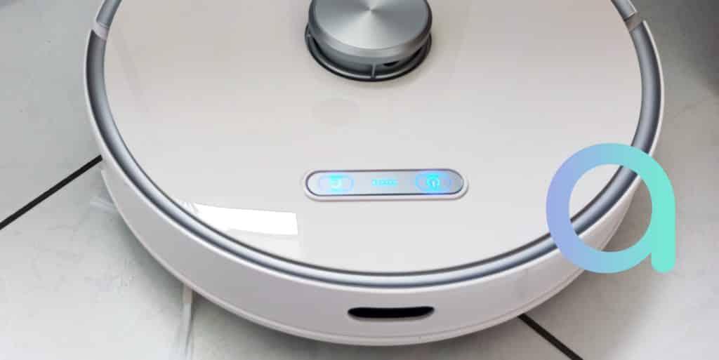 Aspirateur robot connecté à Alexa et Google Assistant Ultenic T10