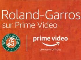Comment regarder Roland Garros 2021 sur Prime Video