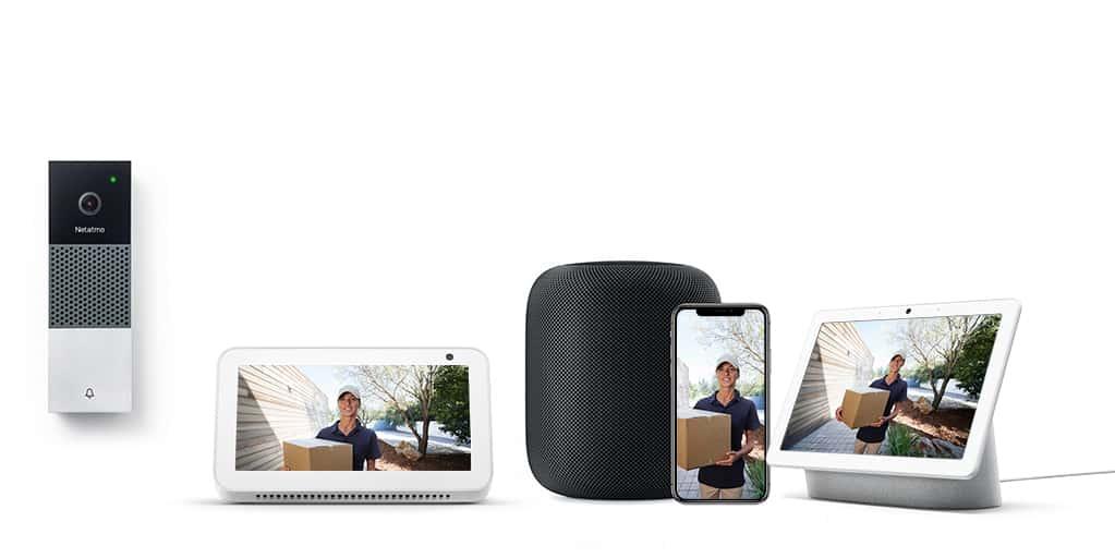 Netatmo rend sa sonnette vidéo compatible avec les assistants vocaux