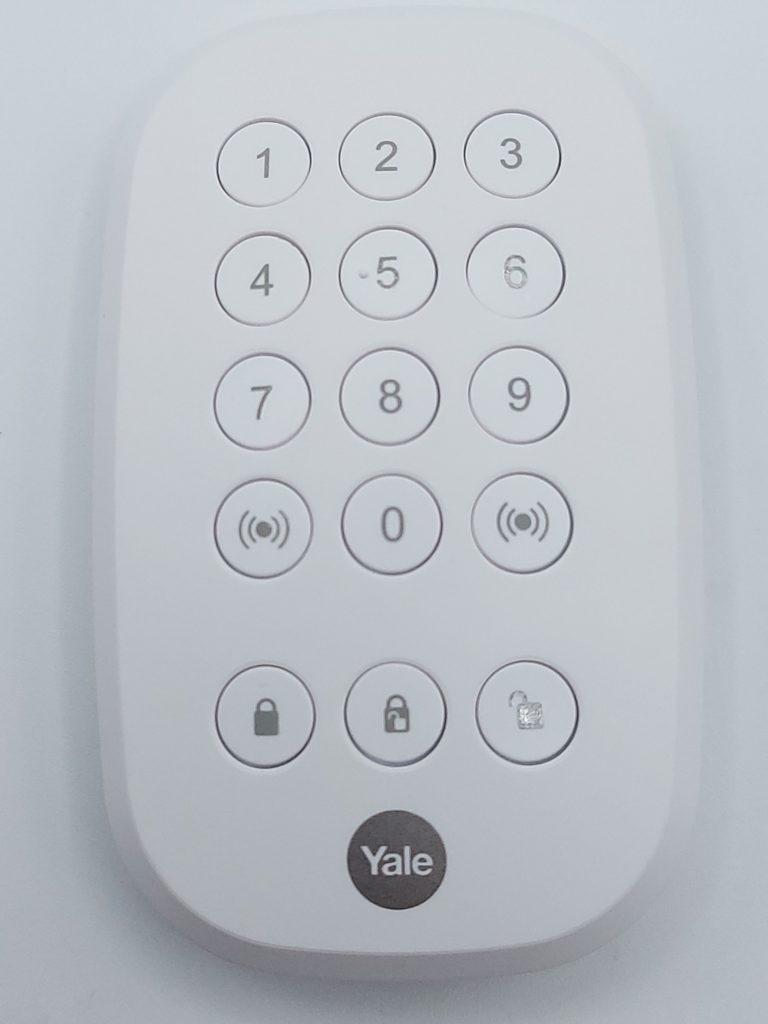 Clavier à touche du smart home Sync de Yale-Starter Kit