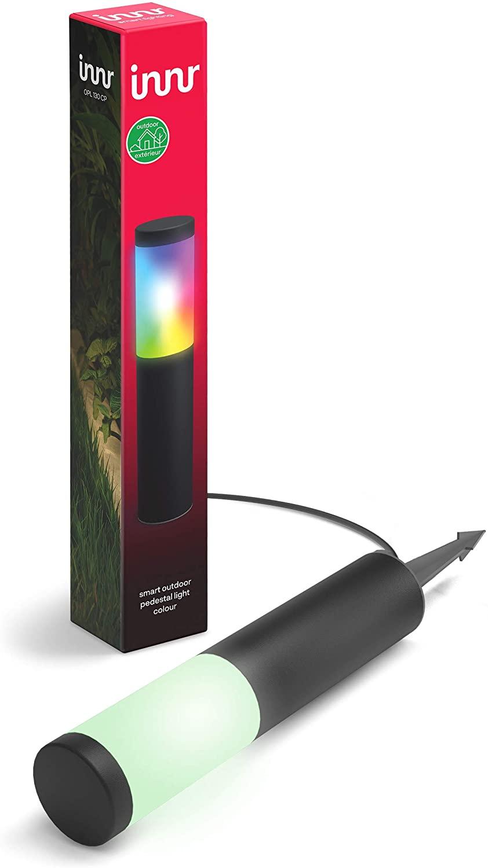 Innr Lighting OPL 130 CP éclairage paysager OPL 130 CP, Poteau d'éclairage, Noir, IP65, Secteur, 220-240 V, 1 pièce(s)
