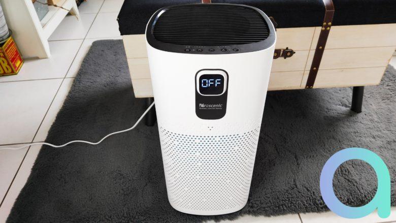 Test complet du Proscenic A9, un purificateur d'air connecté à Google Home et Amazon Alexa