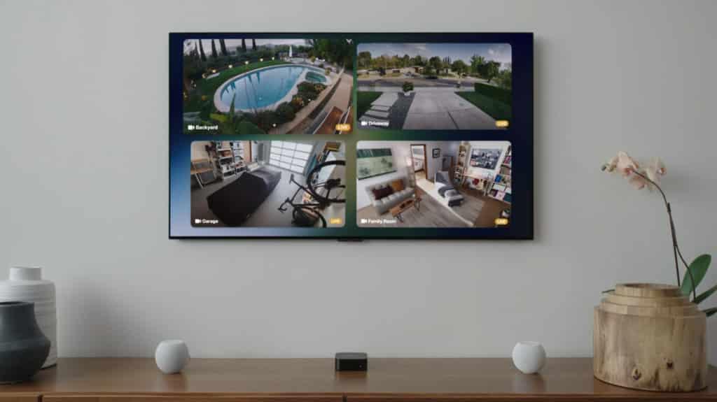 Caméras vidéos sur HomeKit et AppleTV