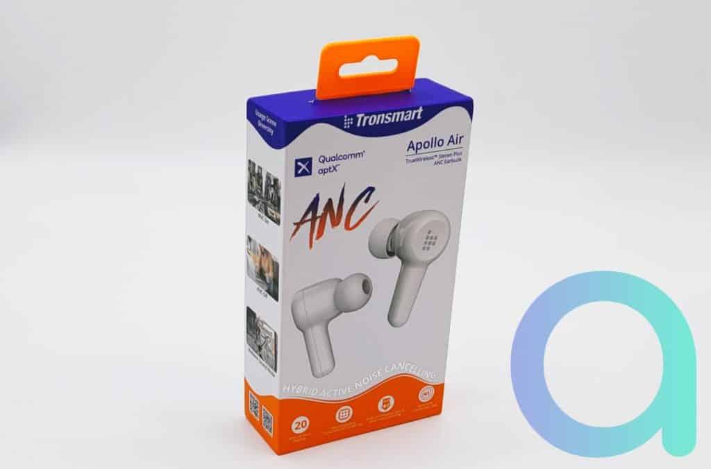 Tronsmart présente dans un coffret coloré ses écouteurs intra Appolo Air