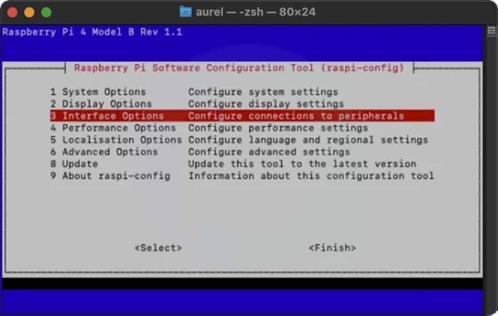 Raspberry Pi 4 : accès SSH
