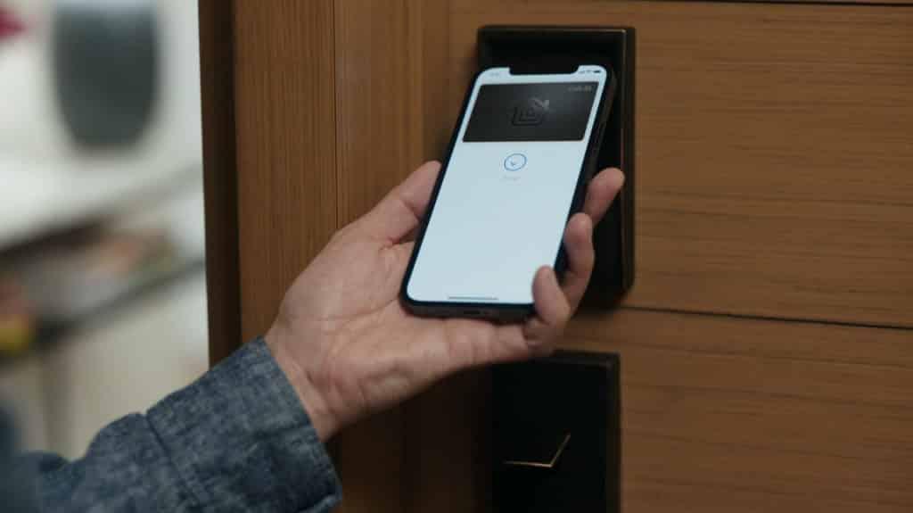 Serrure connectée avec Apple HomeKit et iOS15
