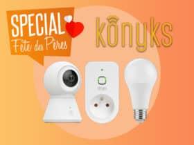 Konyks propose un pack de démarrage maison connectée pour la fête des pères.