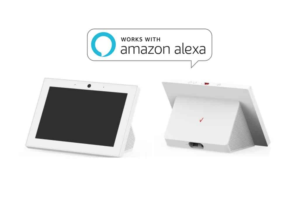 Verizon s'apprêterait à proposer un smart display avec Alexa Custom Assistant