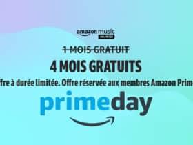 Profitez de 4 mois de musique gratuite à l'occasion de Prime Day 2021