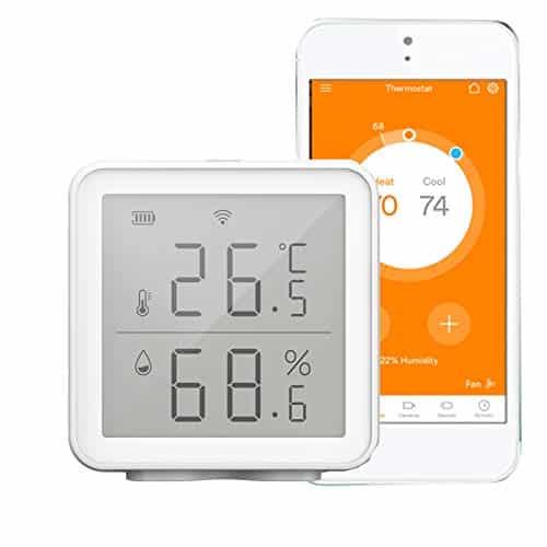 Avis et prix capteur météo Keecher Wi-Fi : thermomètre et hygromètre connecté