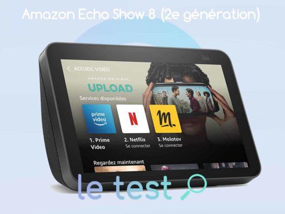 Notre avis sur la deuxième génération Echo Show 8 (2021) avec Alexa