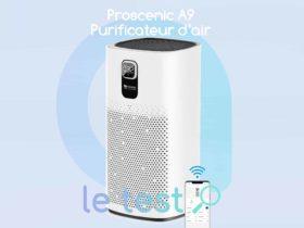 Notre avis sur le purificateur d'air connecté Proscenic A9