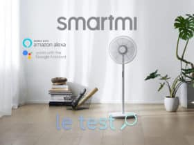 Notre avis sur le Smartmi Fan 3, une ventilateur connecté à Alexa et Google Home.