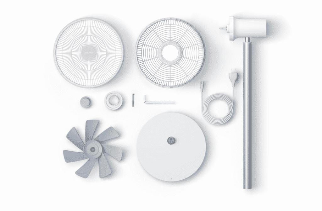 Smartmi Standing Fan 3 : unboxing du ventilateur connectée Xiaomi Home