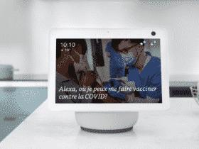Demandez à Alexa comment vous faire vacciner contre la Covid-19