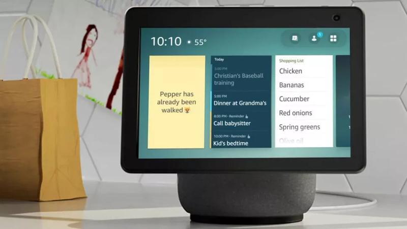 Amazon annonce des widgets sur Echo Show