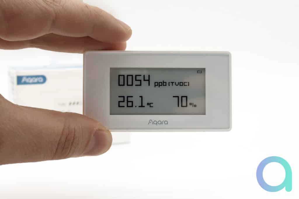 Notre avis sur Aqara TVOC, un capteur de qualité de l'air
