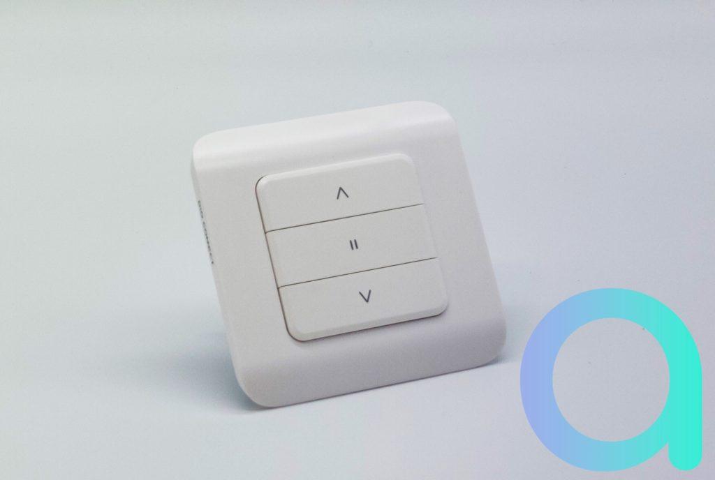 Le DIO Rev Shutter est un élégant bouton permettant la gestion connectée de ses volets