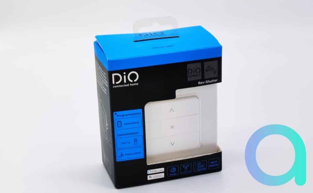 Dio présente son Rev-Shutter dans un emballage laissant trasparaitre le modèle