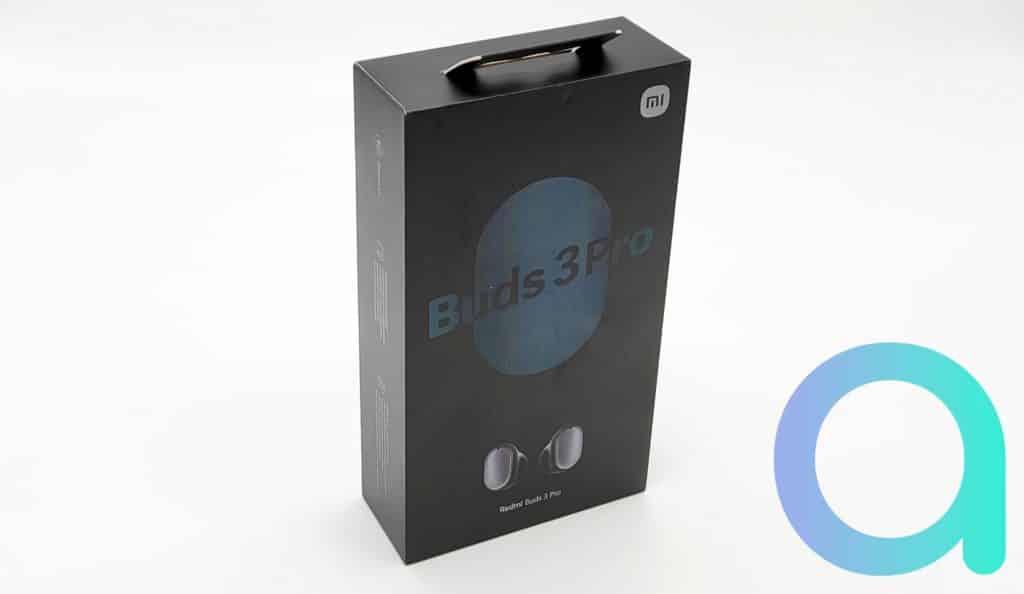 Packaging sombre pour écouteurs Redmi Buds 3 Pro bleu foncé