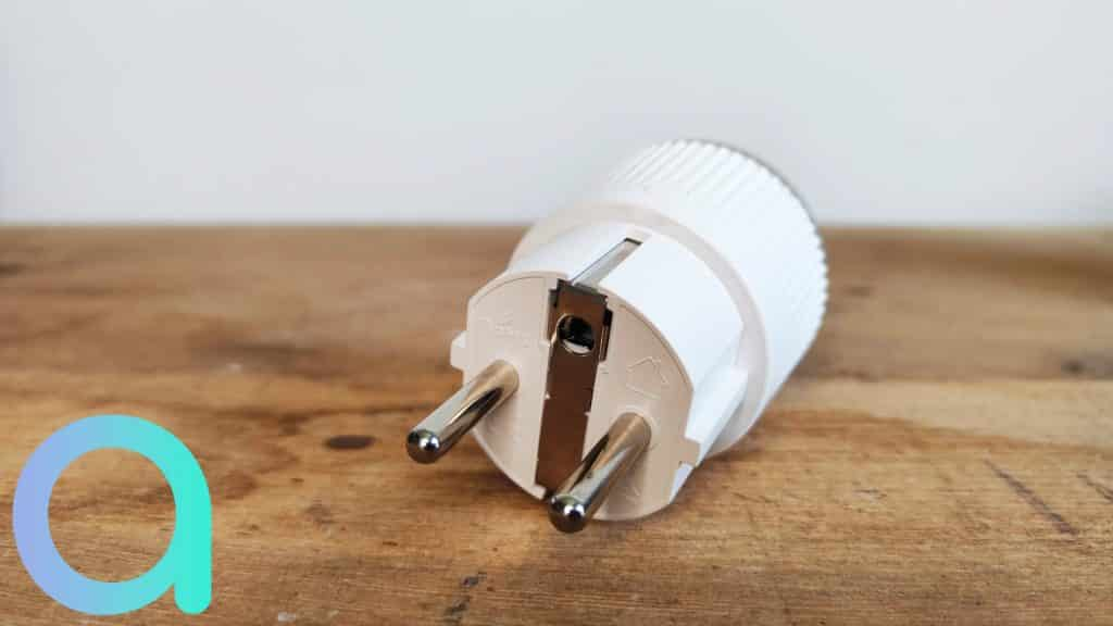 De type E/F elle est également équipée du type Schuko cette petite Shelly Plug S