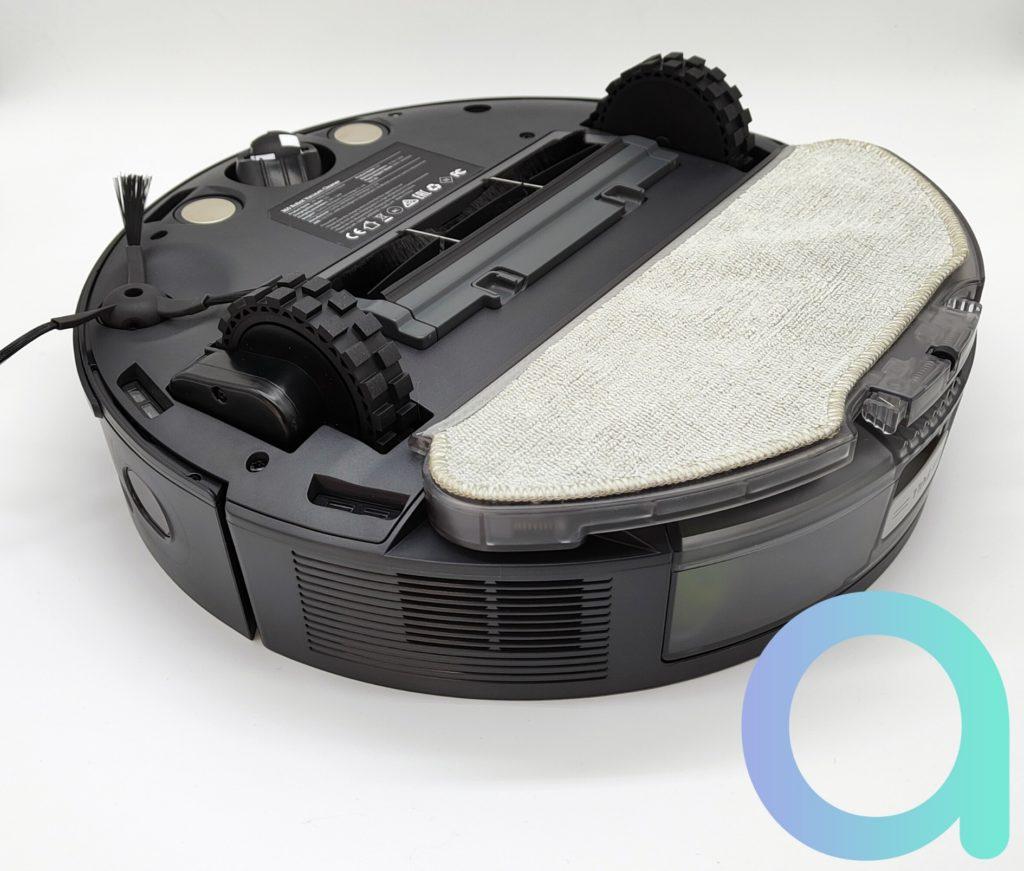 Le robot aspirateur 360 S10 étant un appareil 2 en 1 il a une plaque avec serpillère pour le lavage