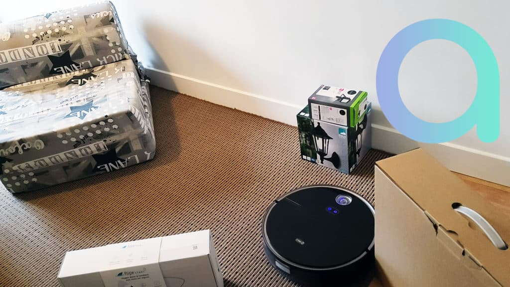 Le robot aspirateur 360 S10 à subit le parcours d'obstacle pour notre test