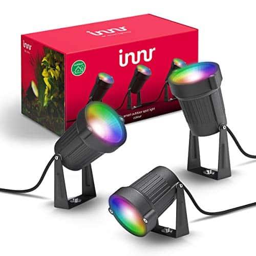 Avis et meilleur prix pour les spots de jardin connectés Innr Smart Outdoor Spot Light Colour