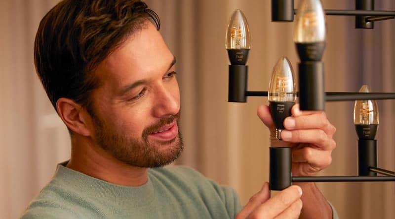 Nouvelles ampoules Philips Hue White Filament E14