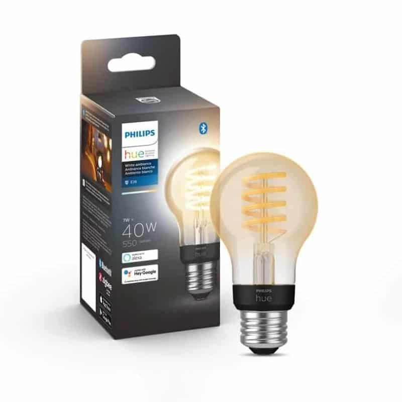Philips Hue White Ambiance Filament A19