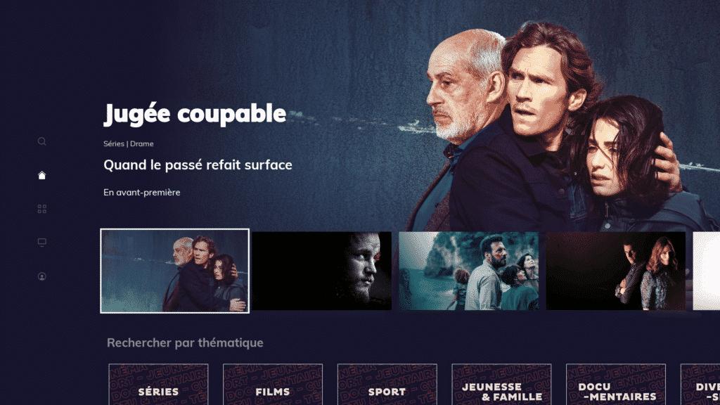 Le service de streaming Salto sur Fire TV d'Amazon