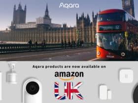 Aqara annonce l'ouverture de sa boutique Amazon au Royaume-Uni