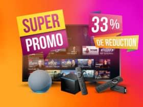 Jusqu'à -40% sur les Fire TV Stick et Fire TV Cube d'Amazon
