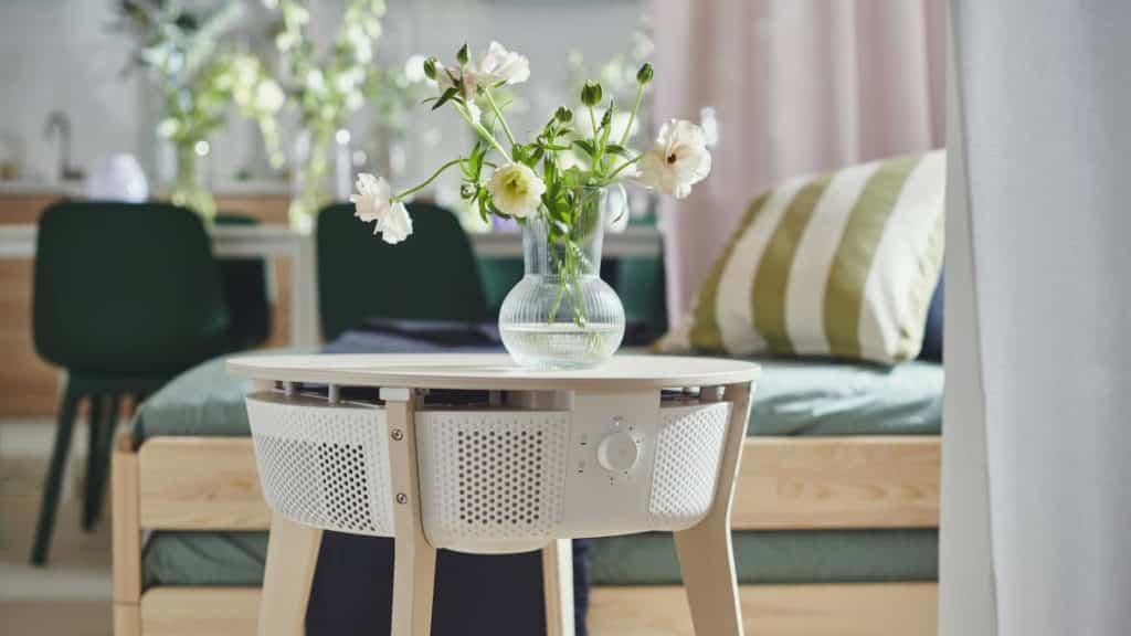 Nouveau purificateur d'air connecté IKEA
