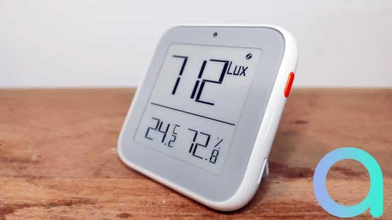 Moes le capteur de température, d'hygrométrie et luminosité ZSS-ZK-THL
