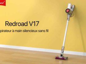 Redroad présente son nouveau aspirateur balai V17