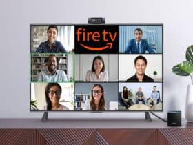 Comment passer des appels vidéo et des visioconférences Zoom sur Fire TV Cube d'Amazon.