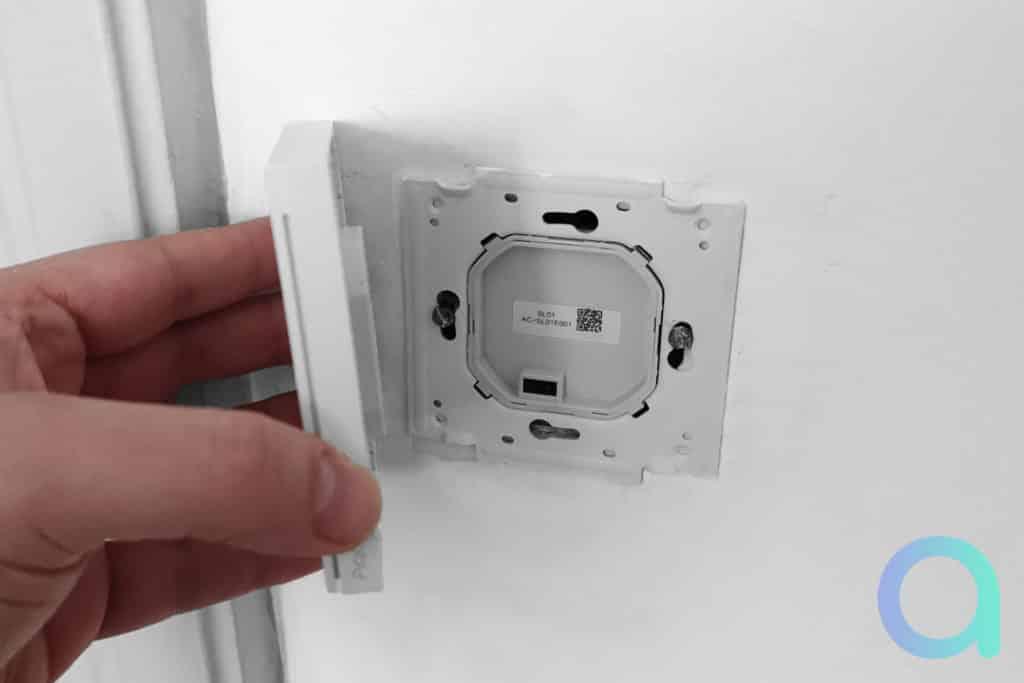Installation de l'interrupteur ZigBee Aqara H1 EU