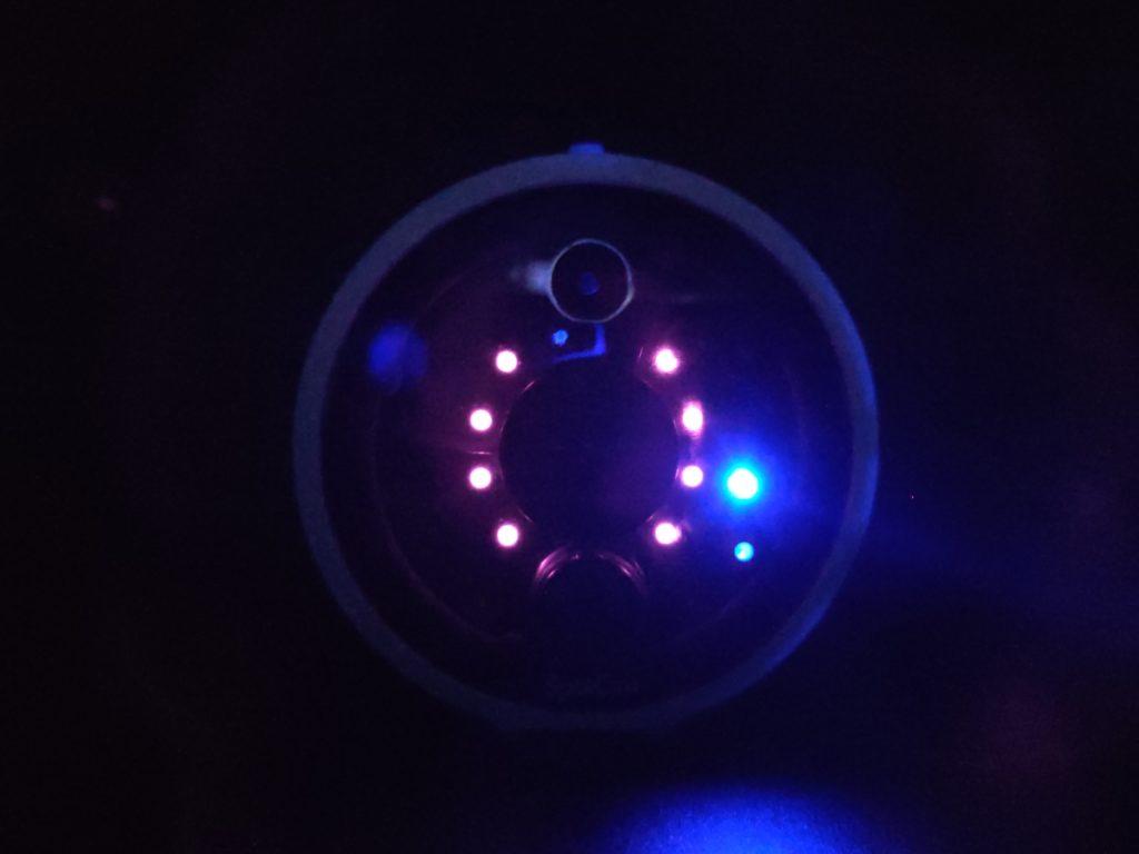 Les 8 LED Infra Rouge de la SpotCam Solo 2
